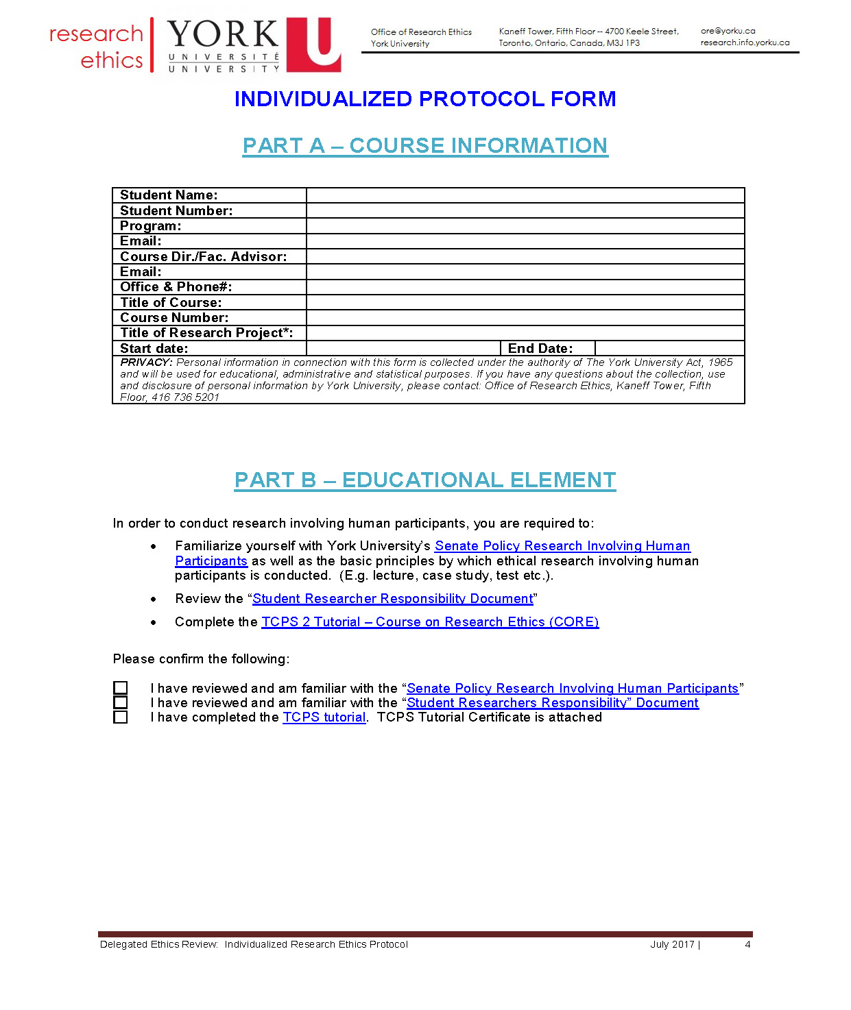 full-size image of the individualized protocol from research ethics page 4