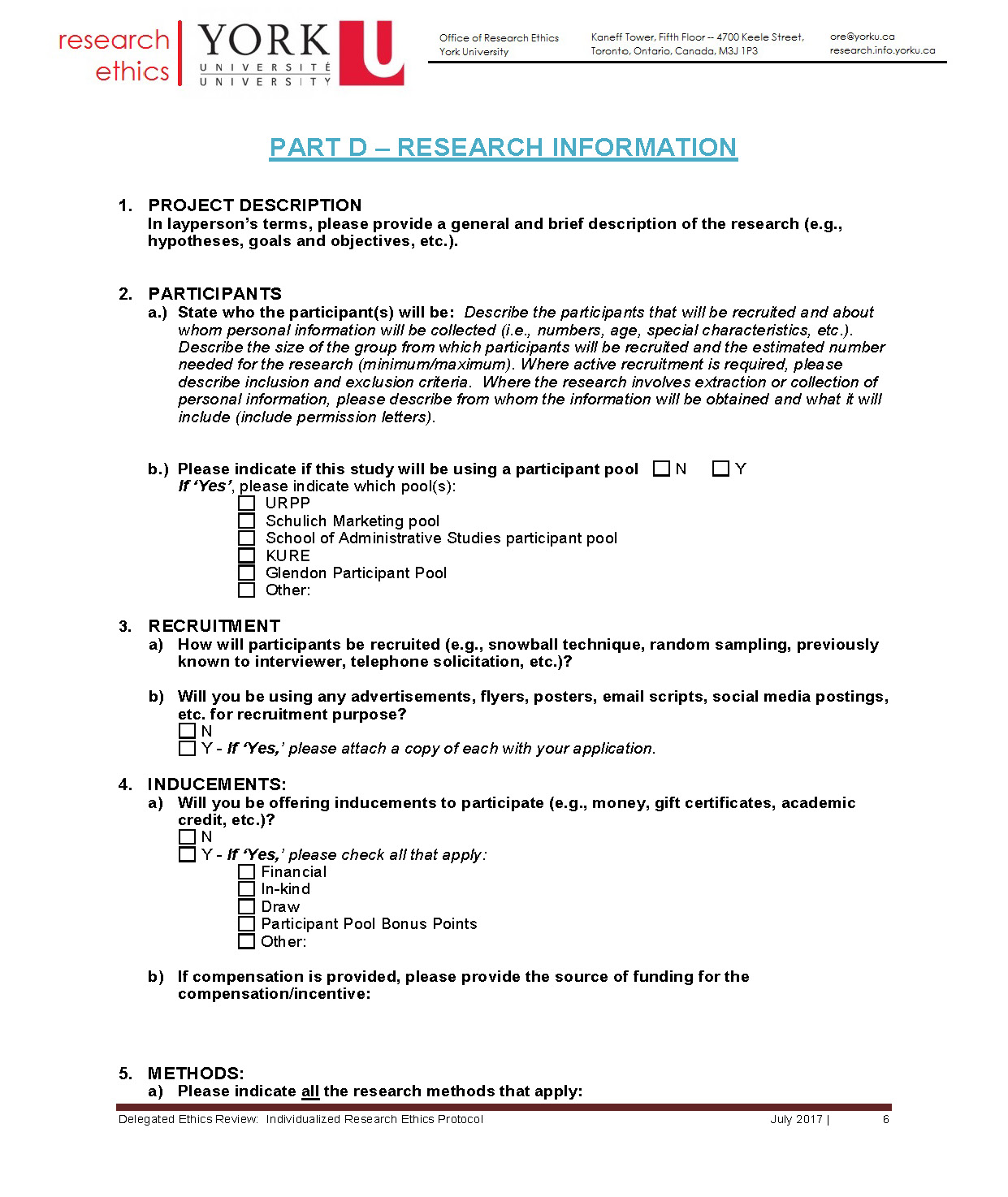 full-size image of the individualized protocol from research ethics page 6