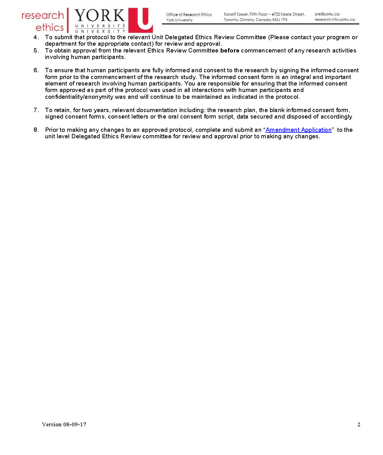 full-size image of student research responsibilities from research ethics page 2